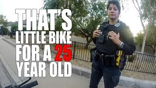 COP TRIES TO INTIMIDATE BIKER | POLICE VS BIKERS |  [Episode 74]