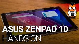 ASUS ZenPad 10 mit Tastatur Dock im Hands On (deutsch)