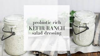 Kefir Ranch Dressing Recipe