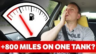 Can An Old Car Achieve Over 800 Miles On One Tank?