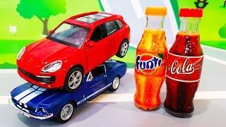 Мультики про машинки. Лучшие мультики - Машинки и Кока Кола. Coca Cola VS cars. Лего Мультфильмы