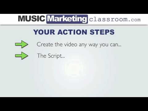 Music Marketing Challenge Day 8 – Creating A Welcome Video For New Fans
