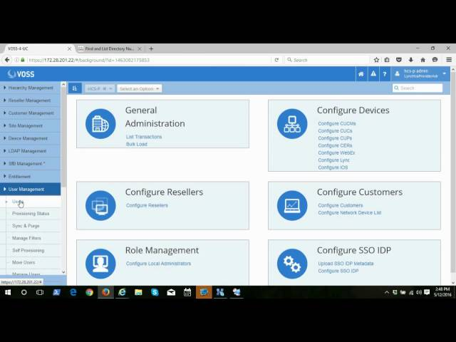 VOSS-4-UC Provisioning & Management with a Single Pane of Glass