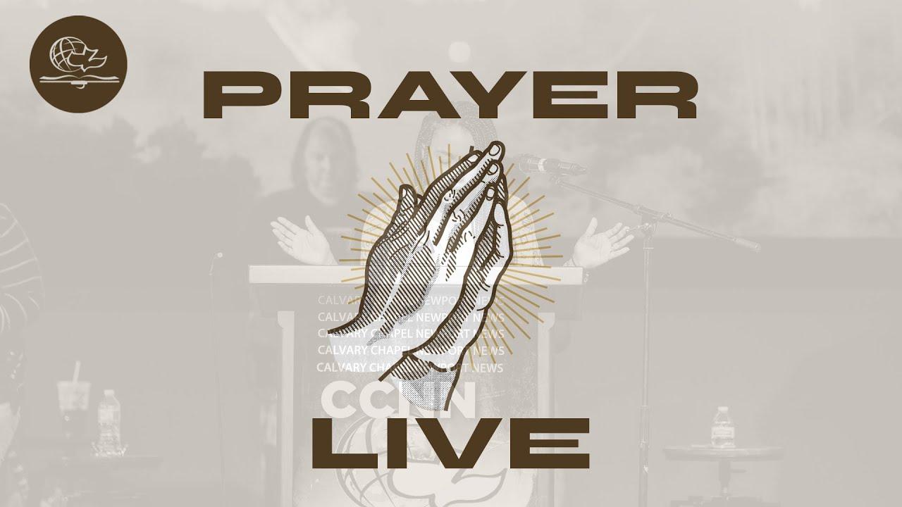 LIVE PRAYER SERVICE