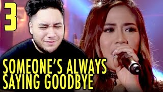 Morissette Amon - Someone's Always Saying Goodbye | MYX Live REACTION!!!