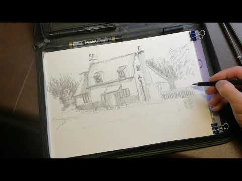 Thumbnail of Pencil Sketch Demonstration