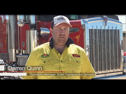 PACCAR Portrait – Quinn Transport and Spreading
