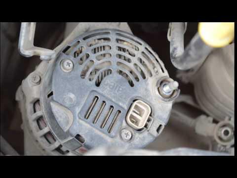 Ремонт генератора своими руками. Не идет зарядка. Хундай Акцент.