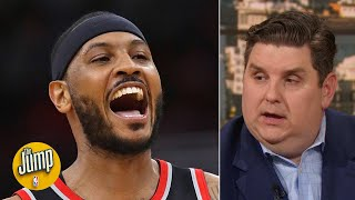 I am stunned that Carmelo Anthony has played this well physically - Brian Windhorst | The Jump