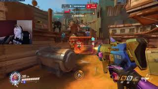 Overwatch This Is How Sombra God Codey Plays (With Facecam)