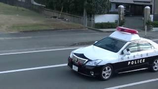 熊本県警察玉名警察署「玉名1」緊急走行