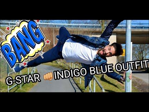 G-STAR INDIGO BLUE OUTFIT - TRENDGUN