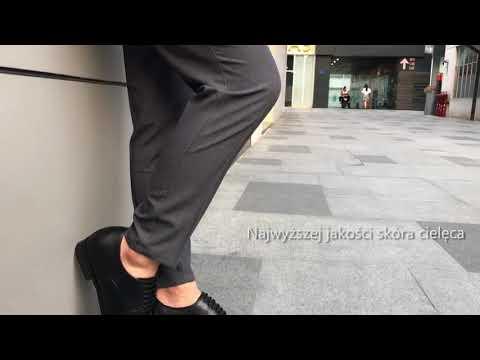 Faretti - męskie buty podwyższające - video - 2