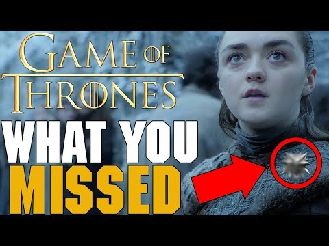 Things You MISSED!! Game Of Thrones Season 8 Episode 1