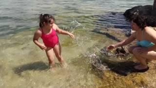 Купание на озере Севан