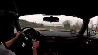 preview picture of video 'Simone Rossini - MX5 NC - LLCC Imola 29/11/14 - 3° turno'