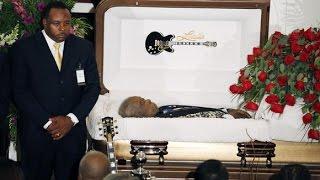 B.B King funeral.