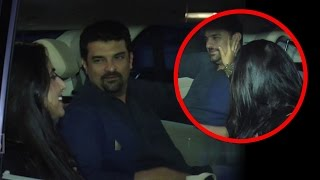 Vidya Balan And Siddharth Roy Kapoor Romance In Car !!