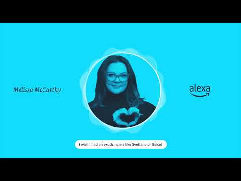 Shaquille O'Neal and Melissa McCarthy Join Roster of Alexa Celebrity Personalities
