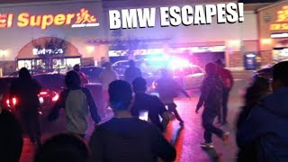 BMW RUNS AND ESCAPES FROM THE COPS!