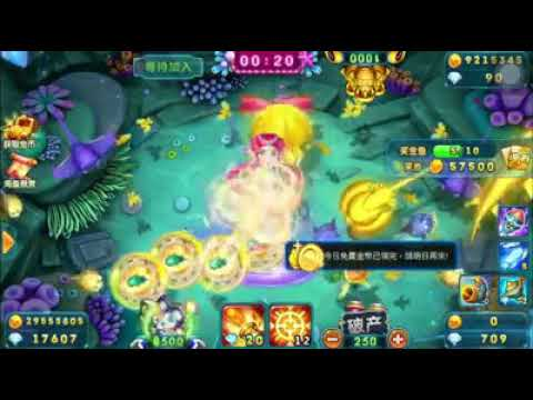 Fish Hunter Champion (bắn cá) Kill Boss and Mermaid, bullet 8500