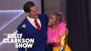 John Cena Surprises Sho Madjozi While Performing 'John Cena'