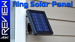 Ring Solar Panel Review / Stick Up Cam Update
