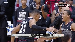 Crosstown Shootout Highlights: Cincinnati 86, Xavier 78 (Courtesy ESPN) - dooclip.me