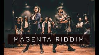 MAGENTA RIDDIM | One Take | Tejas Dhoke Choreography | Dancefit Live
