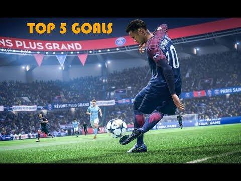 TOP 5 GOALS IN FIFA 19 | HD | PS4-SLIM