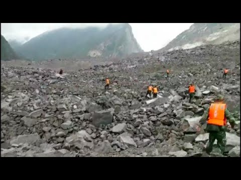 Around 100 people feared buried in China landslide–authorities