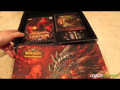 World of Warcraft Cataclysm Collector's Edition Unboxing