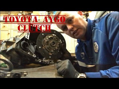 Toyota AYGO Clutch, How To Fit Align and make a Alignment Tool
