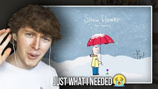 JUST WHAT I NEEDED! (BTS V (방탄소년단) 'Snow Flower' (feat. Peakboy) | Song Reaction/Review)