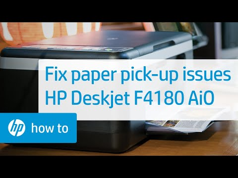 Fixing a Carriage Jam - HP Deskjet F4180 All-in-One Printer
