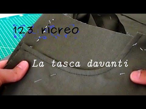 Jeans parte VI° - Tasca davanti