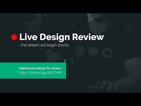 Live Design Review - Gary Reviews Your Design!