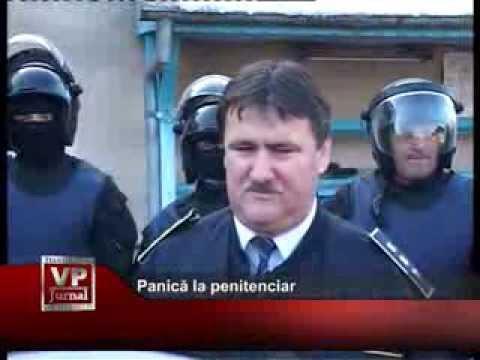 Panică la penitenciar