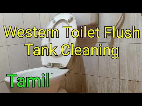 Western Toilet  flush Tank cleaning in Tamil