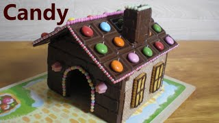 DIY Chocolate House Kit (ASMR) Sweets Decoration