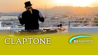Claptone - Live @ DJ Awards Exclusive Sunset 2019 x OD Ocean Drive Sky Bar
