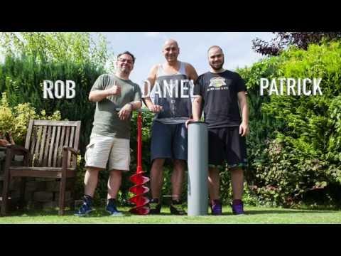 Test: Einbau der HopfenHöhle - kühles Bierchen im Garten ohne Strom