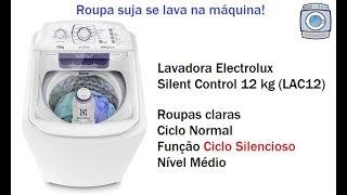 Lavadora Electrolux Silent Control 12 kg (LAC12) - Ciclo Silencioso