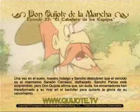 Videocuento Epis.#22 Resumen DON QUIJOTE DE LA MANCHA (1979) - QUIXOTE