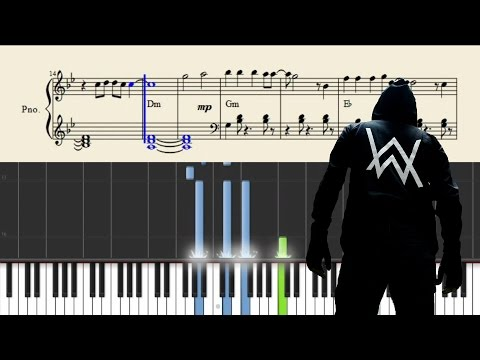 Alan Walker - Alone - Piano Tutorial + SHEETS
