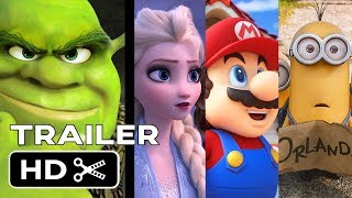TOP UPCOMING ANIMATED MOVIES  (2019 - 2022) - NEW KIDS TRAILERS