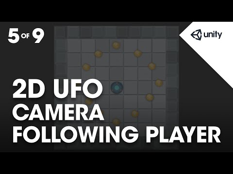 Following the Player with the Camera - Unity