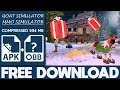 How To Download Goat Simulator MMO Simulator Apk Mod OBB Free Full Game 2020
