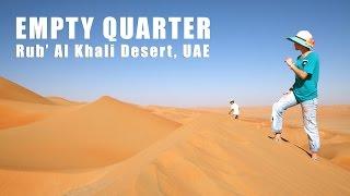 Sands of Time at the Empty Quarter - Rub' Al Khali Desert