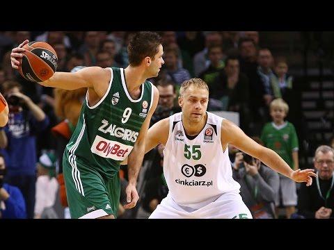 Highlights: RS Round 6, Zalgiris Kaunas 67-56 Stelmet Zielona Gora